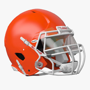 riddell icon helmet 3D model
