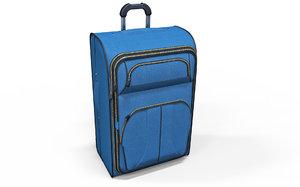 hand suitcase travel 3D