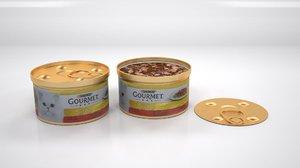 purina gourmet double pleasure 3D model