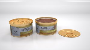 3D purina gourmet mousse liver