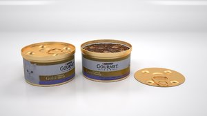 3D model purina gourmet double pleasure