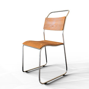 rubic chair 3D model