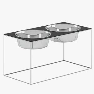 doca pet bowl 3D model