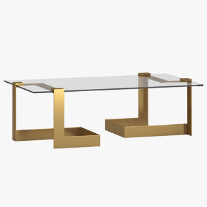 donghia coffee table 3D model