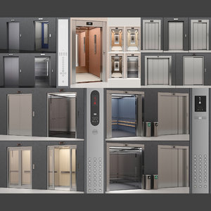 3D kone elevator