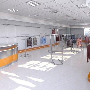 store cloth t 3D model