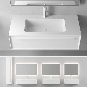 3D 7 0 vanity unit model