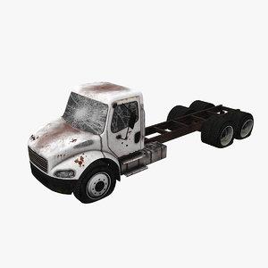 abandoned truck 01 3D model