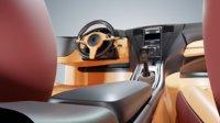 3D model car interior sports