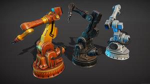 industrial mechanic hand 3D