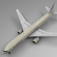 qatar airways boeing 777-300er model