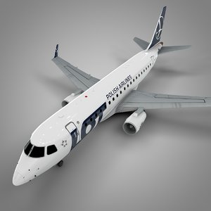 lot embraer175 l553 3D