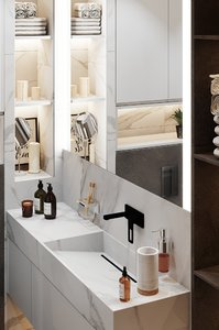 bathroom interior scene corona 3D model