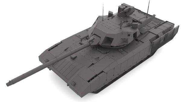 t-14 armata 3D