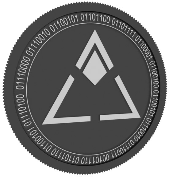 3D loyalcoin black coin