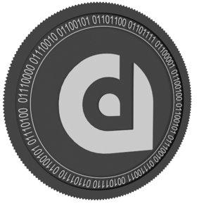 liquidapps black coin 3D model