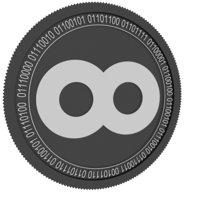 3D model mainframe black coin