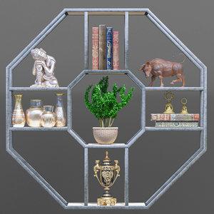 shelf decor model