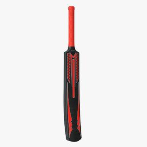 cricket bat plastic 3D model