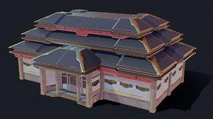 zen future town house 1 3D model
