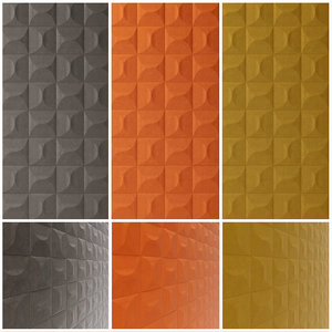 3D model wallcovering carrelage