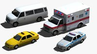 city vehicles model