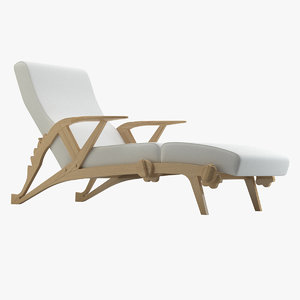 espasso jung chair 3D model