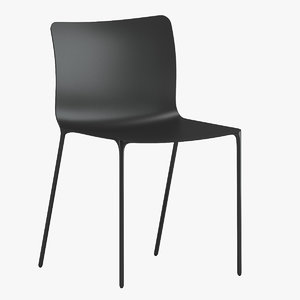 3D established sons surface chair model