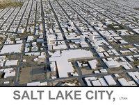 salt lake utah 3D model