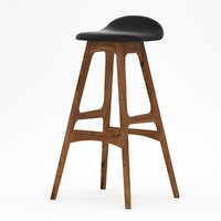 3D erik buck bar stool