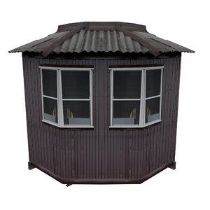 3D balcony metais 01 42 model