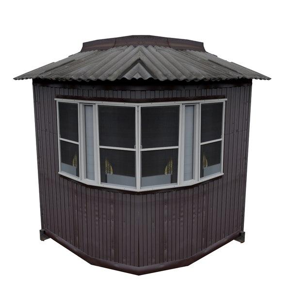 balcony metais 01 43 3D