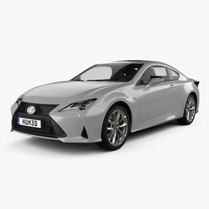 lexus rc hybrid 3D model