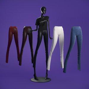 3D model mannequin 6014 coll 60