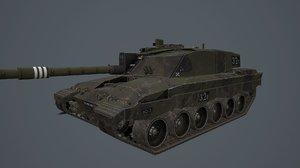3D british uk model