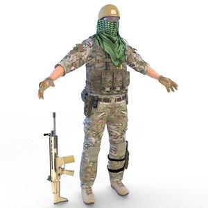 special force 4k 3D model