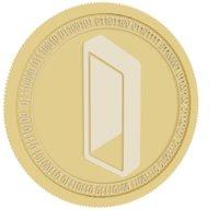 Monolith gold coin
