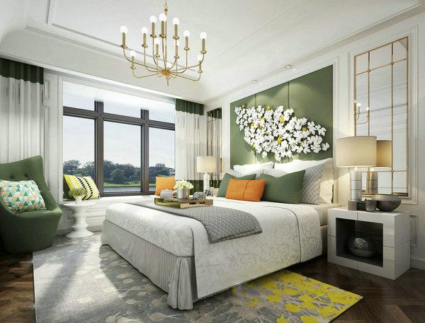 royal bedroom 3D