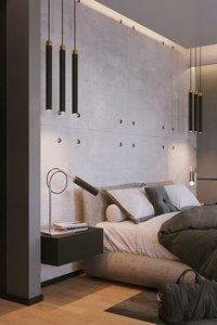 bedroom interior scene corona 3D model