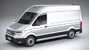 3D volkswagen crafter medium-high