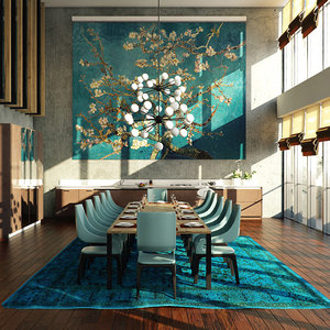 dining room sketchup 3D
