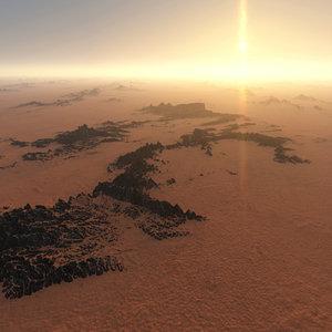 3D terrain parametric
