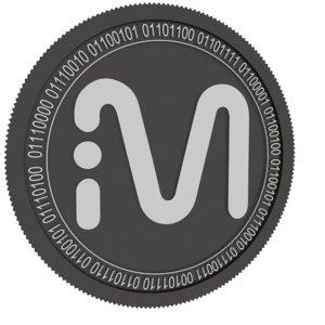 3D mvl black coin