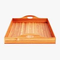 bamboo tray 3D