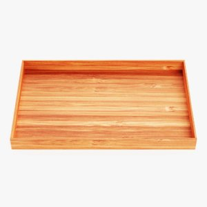 3D model bamboo tray
