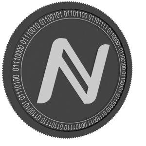 namecoin black coin 3D model