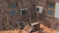 3D model air conditioning
