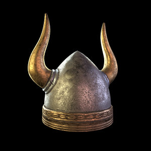 viking helmet model