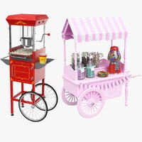 real candy carts 3D