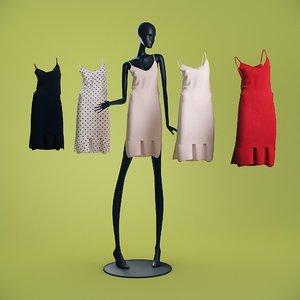 3D mannequin 6014 coll 60